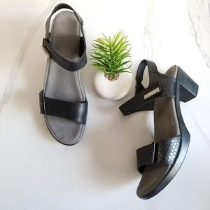 NAOT Intact Open Toe Sandals Ankle Strap Heels